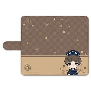 刀剣乱舞-ONLINE- ぽてだん! 手帳型モバイルフォンケース(フリーサイズ)42:平野藤四郎