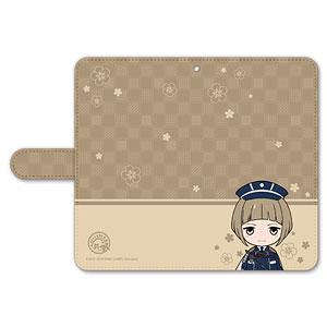 刀剣乱舞-ONLINE- ぽてだん! 手帳型モバイルフォンケース(フリーサイズ)43:前田藤四郎