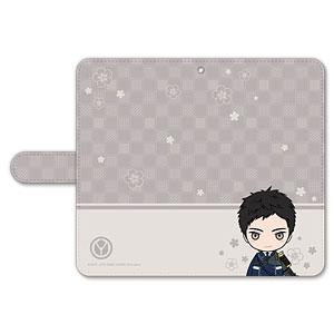 刀剣乱舞-ONLINE- ぽてだん! 手帳型モバイルフォンケース(フリーサイズ)45:厚藤四郎