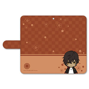 刀剣乱舞-ONLINE- ぽてだん! 手帳型モバイルフォンケース(フリーサイズ)53:大倶利伽羅
