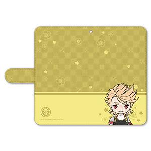 刀剣乱舞-ONLINE- ぽてだん! 手帳型モバイルフォンケース(フリーサイズ)59:ソハヤノツルキ