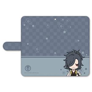 刀剣乱舞-ONLINE- ぽてだん! 手帳型モバイルフォンケース(フリーサイズ)60:大典太光世