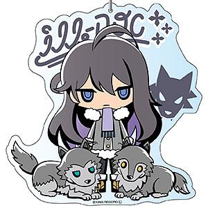 ヒプマイサンリオリミックス デカキーホルダー 神宮寺寂雷 アニマルver.