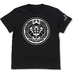 賭ケグルイ 私立百花王学園 Tシャツ/BLACK-M
