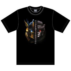 トランスフォーマー×龍馬 Tシャツ VSヘッド サイズM