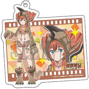 怪獣娘(黒) ムービーアクリルキーホルダー アギラ