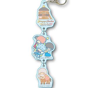 3連キーホルダー 銀魂×Sanrio characters Yorozuya Ginchan