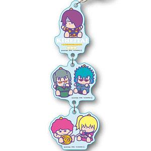 3連キーホルダー 銀魂×Sanrio characters KIHEITAI