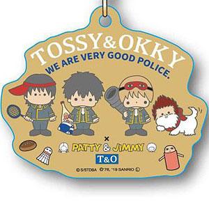 エコストラップ 銀魂×Sanrio characters TOSSY&OKKY A