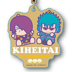 エコストラップ 銀魂×Sanrio characters KIHEITAI (高杉&万斉)