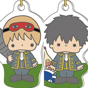 銀魂×Sanrio characters ニコイチアクリルキーチェーン 沖田総悟&土方十四郎
