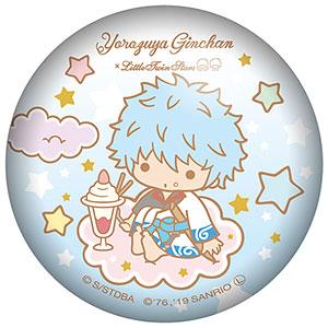 銀魂×Sanrio characters ぷにぷに缶バッジ 坂田銀時