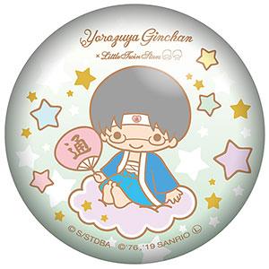 銀魂×Sanrio characters ぷにぷに缶バッジ 志村新八