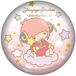 銀魂×Sanrio characters ぷにぷに缶バッジ 神楽