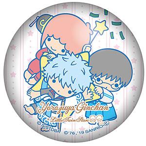 銀魂×Sanrio characters ぷにぷに缶バッジ 万事屋