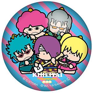 銀魂×Sanrio characters ぷにぷに缶バッジ 鬼兵隊