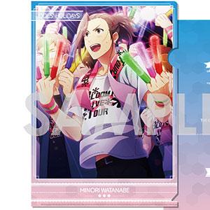 アイドルマスター SideM クリアファイルコレクション-アイドルたちの休日 Vol.2- C.渡辺みのり