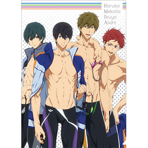 Free!-Dive to the Future- クリアファイル B