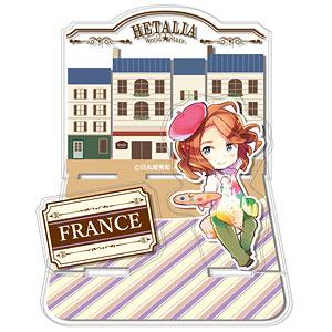 ヘタリア World★Stars アクリルジオラマスタンド 6 フランス