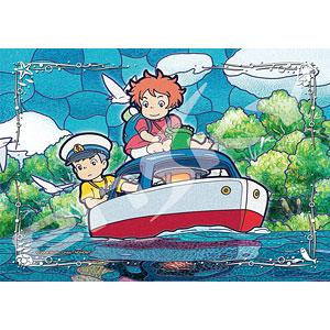 アートクリスタルジグソー スタジオジブリ作品 崖の上のポニョ ポンポン船が行く 208ピース (208-AC58)