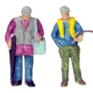 情景コレクション ザ・人間128 釣り人