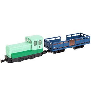 鉄道コレクション ナローゲージ80 富別簡易軌道 ディーゼル機関車+ミルクゴンドラ車