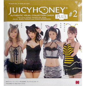 AVCジューシーハニーコレクションカード PLUS#2 AIKA JULIA 本庄鈴 桃乃木かな アダルトトレカ 16パック入りBOX