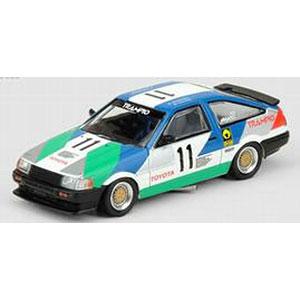 """1/64 トヨタ カローラ レビン AE86 #11 """"TRAMPIO"""" JTCC 1985"""