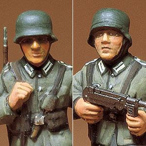 1/35 ミリタリーミニチュアシリーズ ドイツ歩兵セット プラモデル