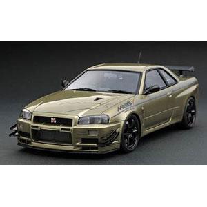 1/43 Nissan Skyline GT-R Mine's (R34) Millennium Jade