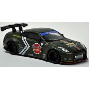 1/64 LB★WORKS Nissan GT-R R35 Type I Rear Wing Ver.1 Zero Fighiter Special