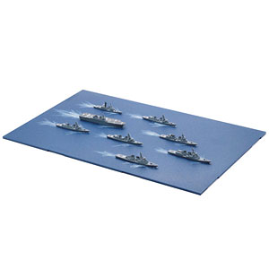 1/3000 集める軍艦シリーズNo.32 海上自衛隊第3護衛隊群 プラモデル