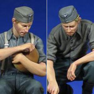 1/35 WW.II ドイツ兵 食事 2体セット