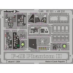 1/48 F-4E ファントムII ズームエッチングパーツ (H社用)