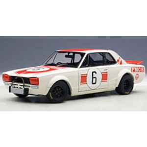 1/18 ベストプライスシリーズ 日産 スカイライン GT-R '71 #6 (日本GP優勝/高橋国光)