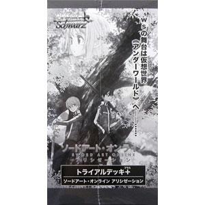 ヴァイスシュヴァルツ トライアルデッキ+(プラス) ソードアート・オンライン アリシゼーション 6パック入りBOX