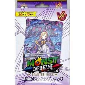 モンスターストライク カードゲーム スターターデッキ パンドラ 6パック入りBOX