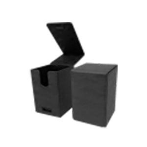 アルコーブタワーデッキボックス スエードコレクション ジェット(黒)
