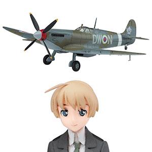 1/20 ストライクウィッチーズ リネット・ビショップw/スピットファイア Mk.IX(1/72) プラモデル