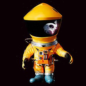 デフォリアル 2001年宇宙の旅 ディスカバリー アストロノーツ イエローVer. 完成品フィギュア