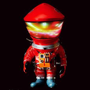 デフォリアル 2001年宇宙の旅 ディスカバリー アストロノーツ レッドVer. 完成品フィギュア