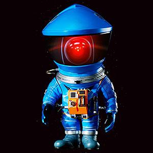 デフォリアル 2001年宇宙の旅 ディスカバリー アストロノーツ ブルーVer. 完成品フィギュア