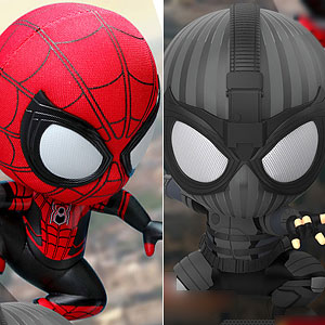 コスベイビー スパイダーマン:ファー・フロム・ホーム サイズS スパイダーマン 壁はりつき版&ステルススーツ版