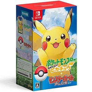 【特典】Nintendo Switch ポケットモンスター Let's Go! ピカチュウ モンスターボール Plusセット