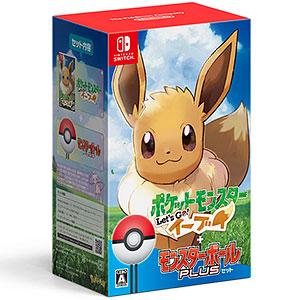 【特典】Nintendo Switch ポケットモンスター Let's Go! イーブイ モンスターボール Plusセット