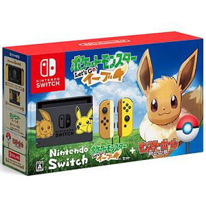 【特典】Nintendo Switch ポケットモンスター Let's Go! イーブイセット(モンスターボール Plus付き)
