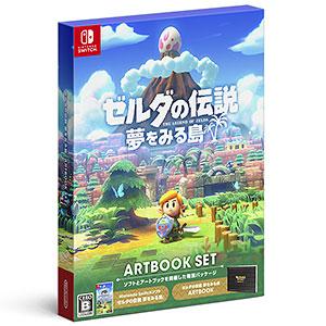 Nintendo Switch ゼルダの伝説 夢をみる島 ARTBOOK SET