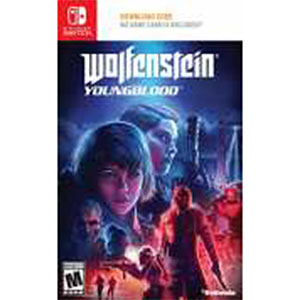 Nintendo Switch 北米版 Wolfenstein Youngblood