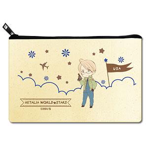 ヘタリア World★Stars フラットポーチ デザイン04(アメリカ)