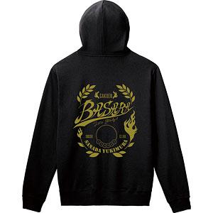 学園BASARA 真田幸村 バックプリントパーカー/メンズ L